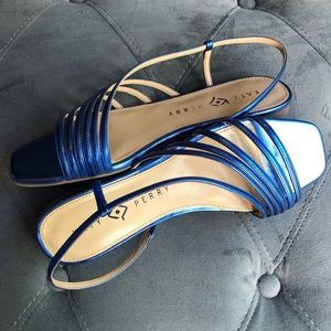 Katy Perry The Pearla Sandal French Blue Size 8.5